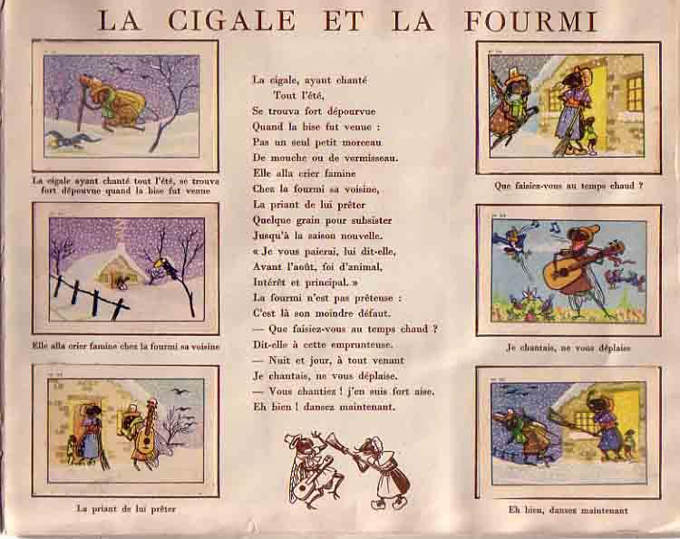 un album Chocolat Menier des années 1950...
